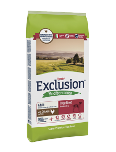 Exclusion Mediterraneo Adult Chicken Large 12,5kg
