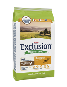 Exclusion Mediterraneo Adult Chicken Medium 12,5kg