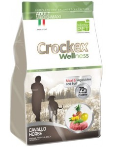 Crockex Wellness Dog Adult Horse 12Kg