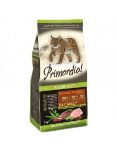 Primordial Cat Adult Turkey & Duck 6Kg