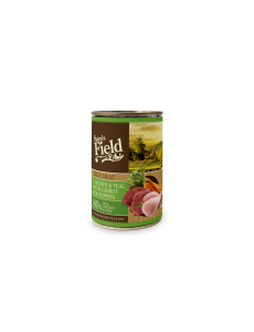 Sam's Field True Chicken Meat & Veal with Carrot for Puppies 400gr