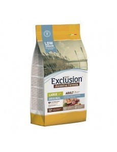 Exclusion Low Grain Adult Original Chicken Pork & Salmon Large 12kg