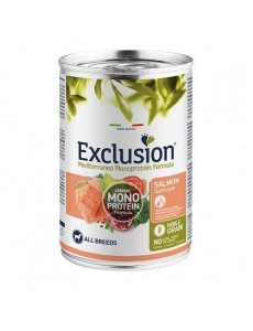 Exclusion Noble Grain Adult Salmon 400gr