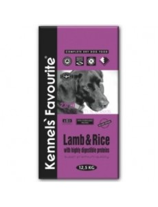 Kennels' Favourite Super Premium Adult Gluten Free Lamb & Rice 20kg